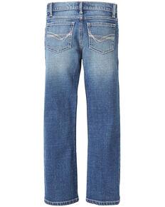 Wrangler Boys' No. 42 Vintage Tyler Stretch Slim Boot Jeans , Blue, hi-res