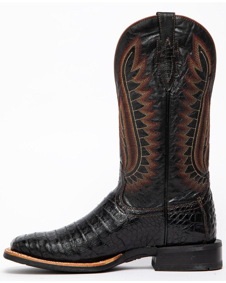 7e328363153 Ariat Men's Double Down Caiman Belly Cowboy Boots - Square Toe