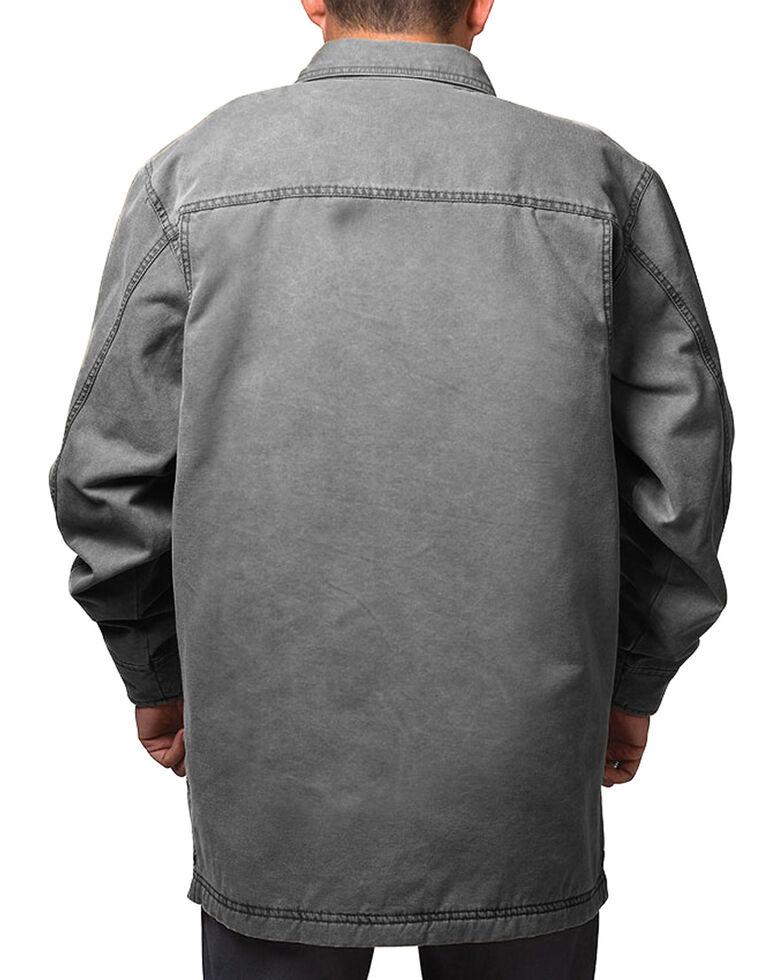 Walls Men's Bandera Vintage Duck Shirt Jacket - Tall, Grey, hi-res