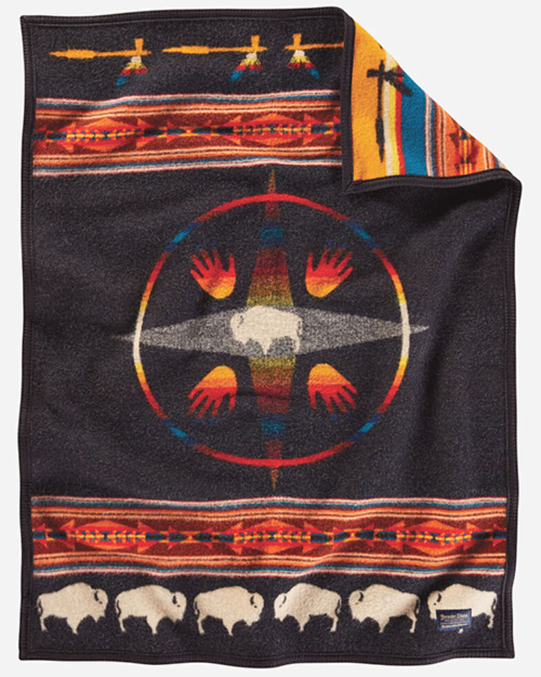 Pendleton Jacquard Crib Blanket, Multi, hi-res