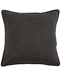 HiEnd Accents Blackberry Polka Dots Euro Sham, Multi, hi-res