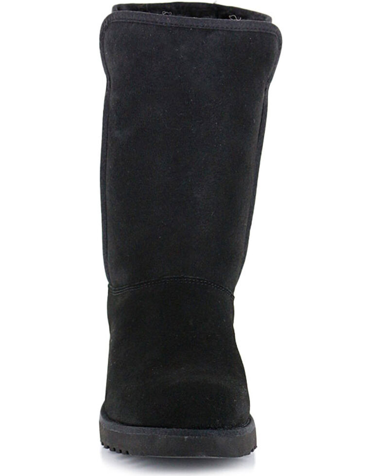 593effd6f39 UGG Women's Black Amie Casual Boots - Round Toe