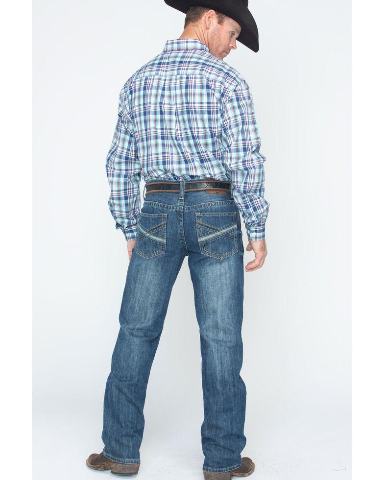 Cody James® Men's Dark Wash Slim Boot Cut Jeans, Blue, hi-res
