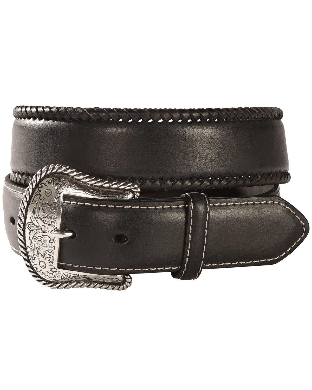 Nocona Mens Prescott USA Tan Belt