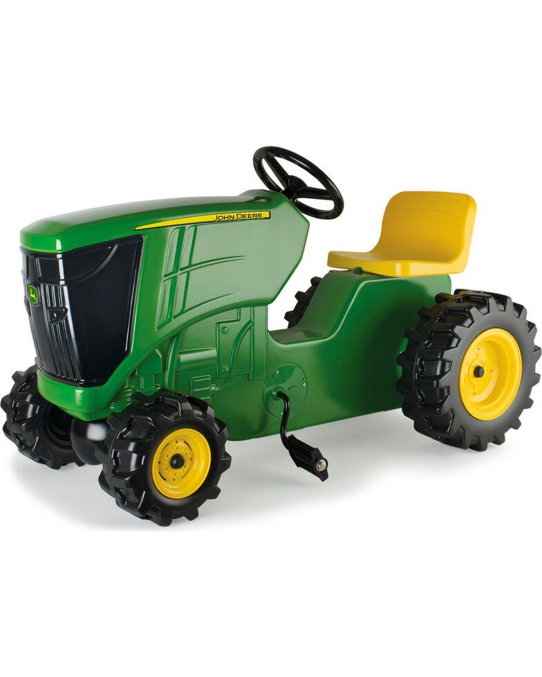John Deere Kids' Large Pedal Plastic Tractor, Green, hi-res