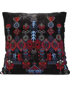Johnny Was Casa Embroidered Pillow , Black, hi-res