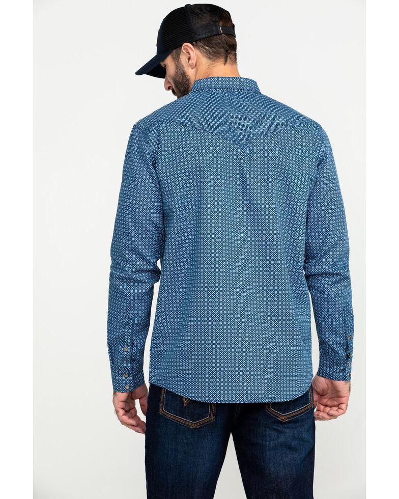 Cody James Men's FR Geo Print Long Sleeve Work Shirt - Big , , hi-res