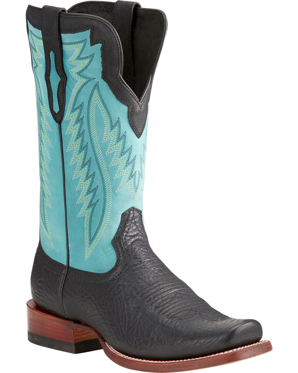 Ariat Men's Relentless Prime Western Boots, Black, hi-res