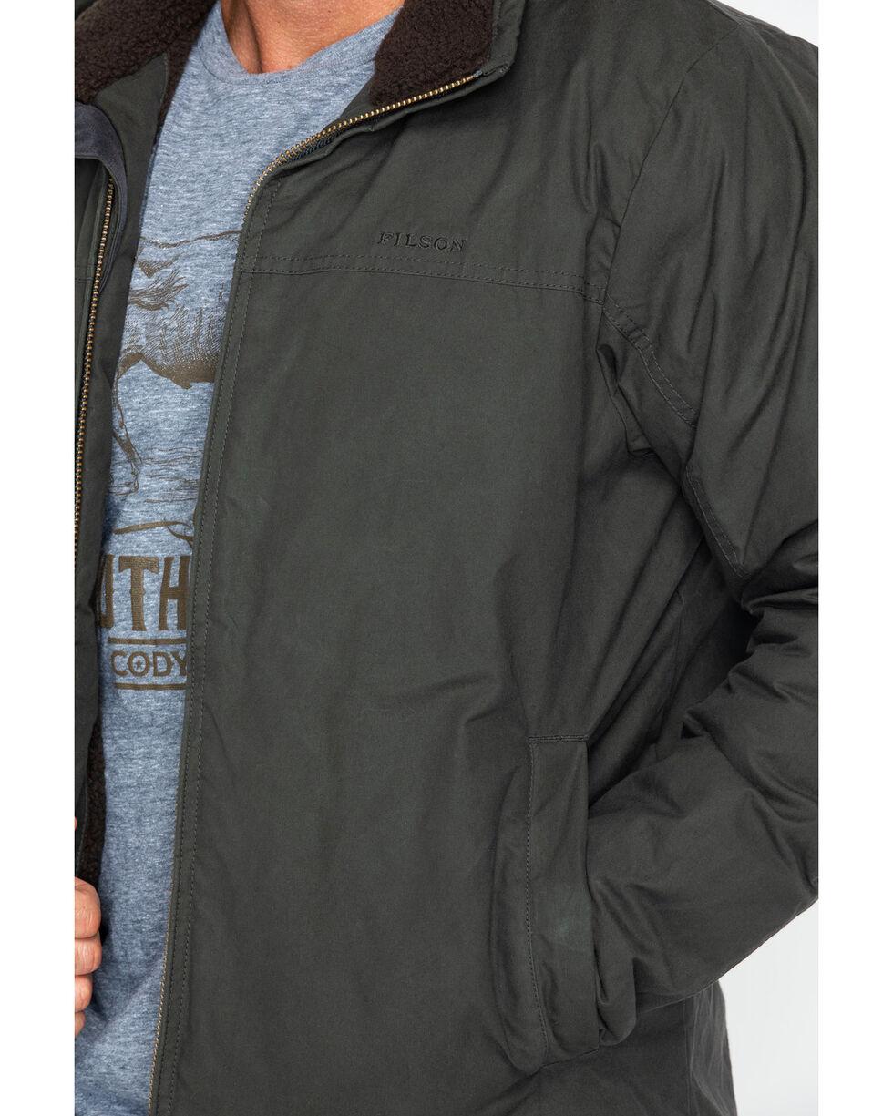 Filson Men's Zip Front Insulated Solid Work Jacket , Slate, hi-res