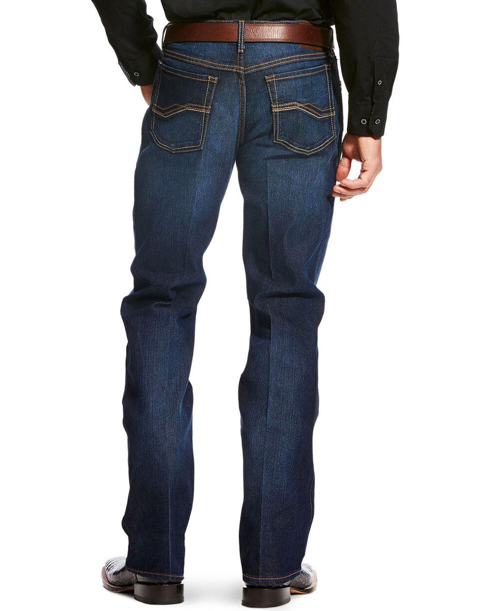 Ariat Men's Blue Relentless Relaxed Jeans - Boot Cut , Blue, hi-res