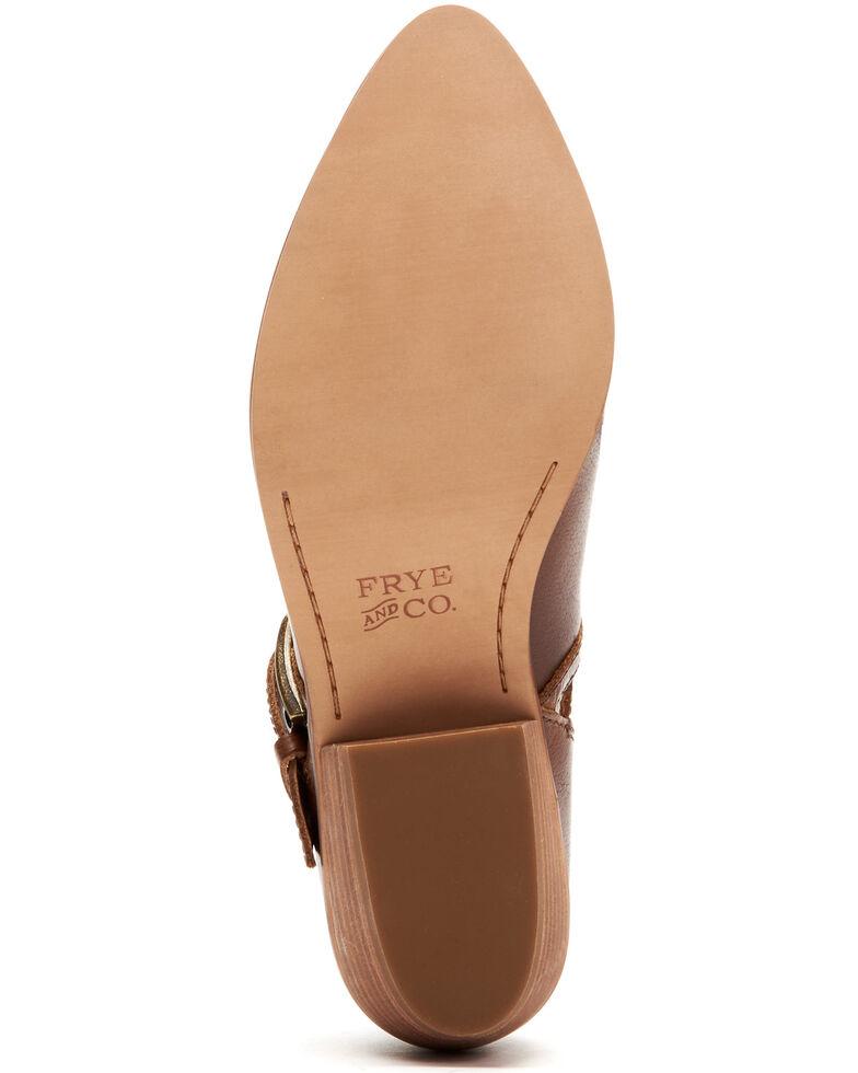 Frye & Co. Women's Rubie Moto Fashion Booties - Pointed Toe, Cognac, hi-res