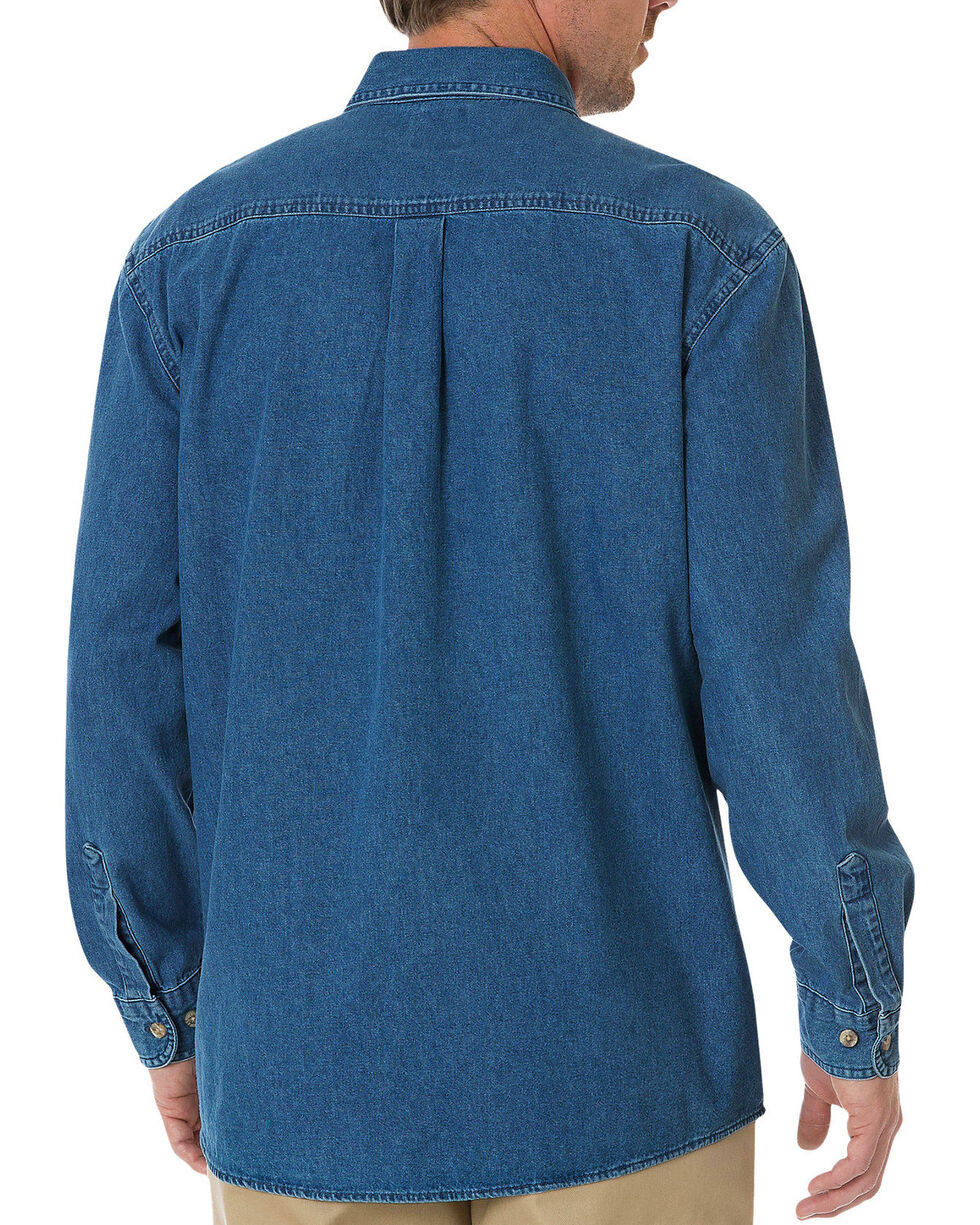 Dickies Stonewash Denim Work Shirt, Stonewash, hi-res