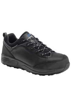 Nautilus Men's Surge Work Shoes - Composite Toe, Black, hi-res