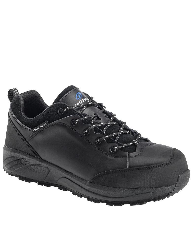 Nautilus Men's Surge Work Shoes - Composite Toe, Black, hi-res