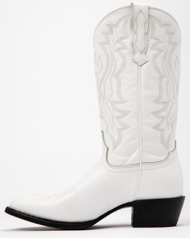 Shyanne Women's Blanca Western Boots - Round Toe, White, hi-res