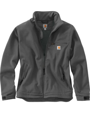 Carhartt Men's Crowley Jacket, Charcoal Grey, hi-res