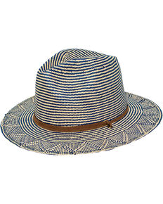 ab5bad0be93 Peter Grimm Women s Blue Kara Straw Hat