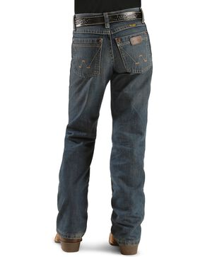 Wrangler Boy's Retro Relaxed Boot Cut Jeans, Denim, hi-res
