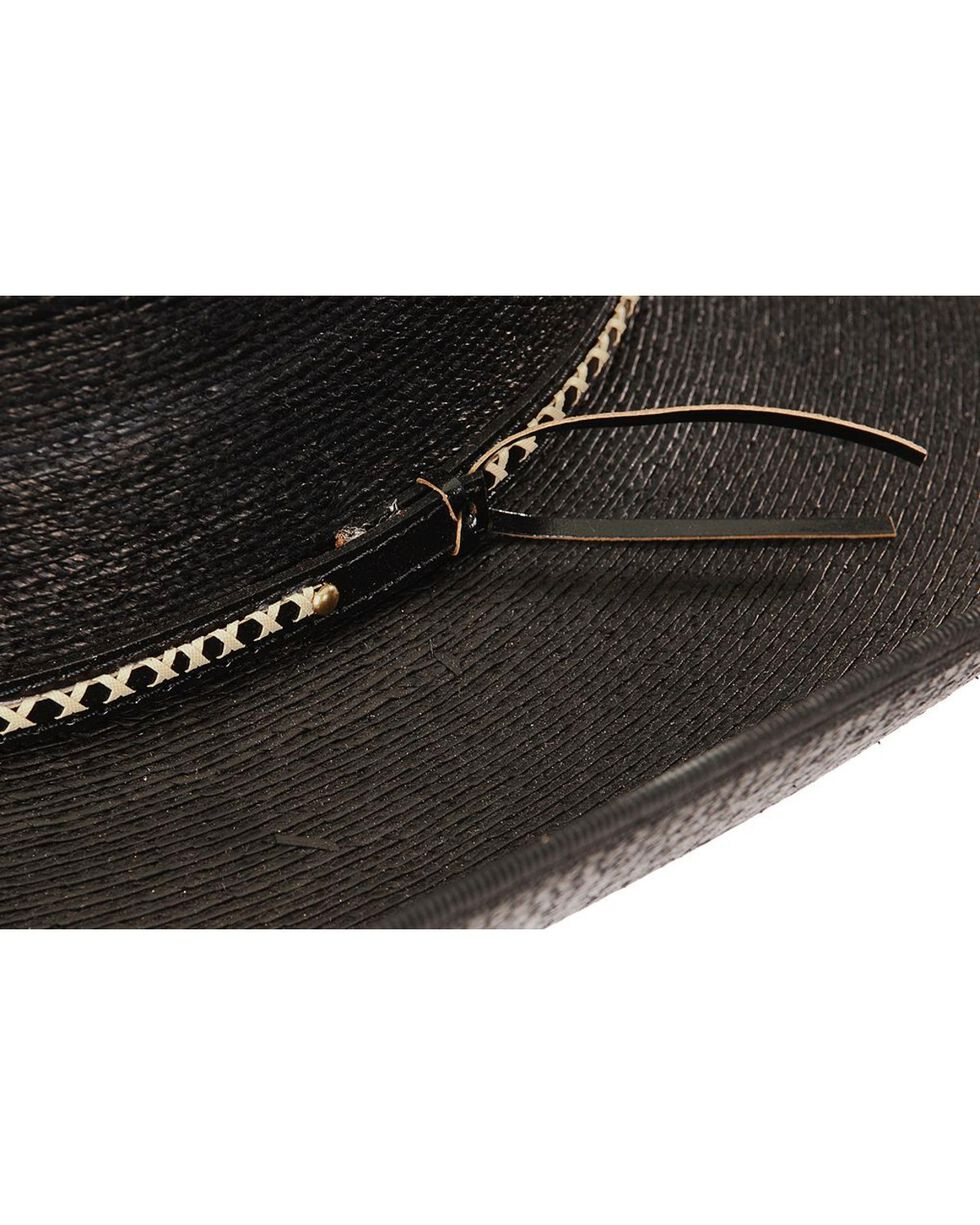 Resistol Men's Jason Aldean Asphalt Cowboy Palm Hat, Black, hi-res