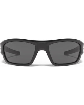 Under Armour Men's Shiny Black UA Force Sunglasses , Black, hi-res