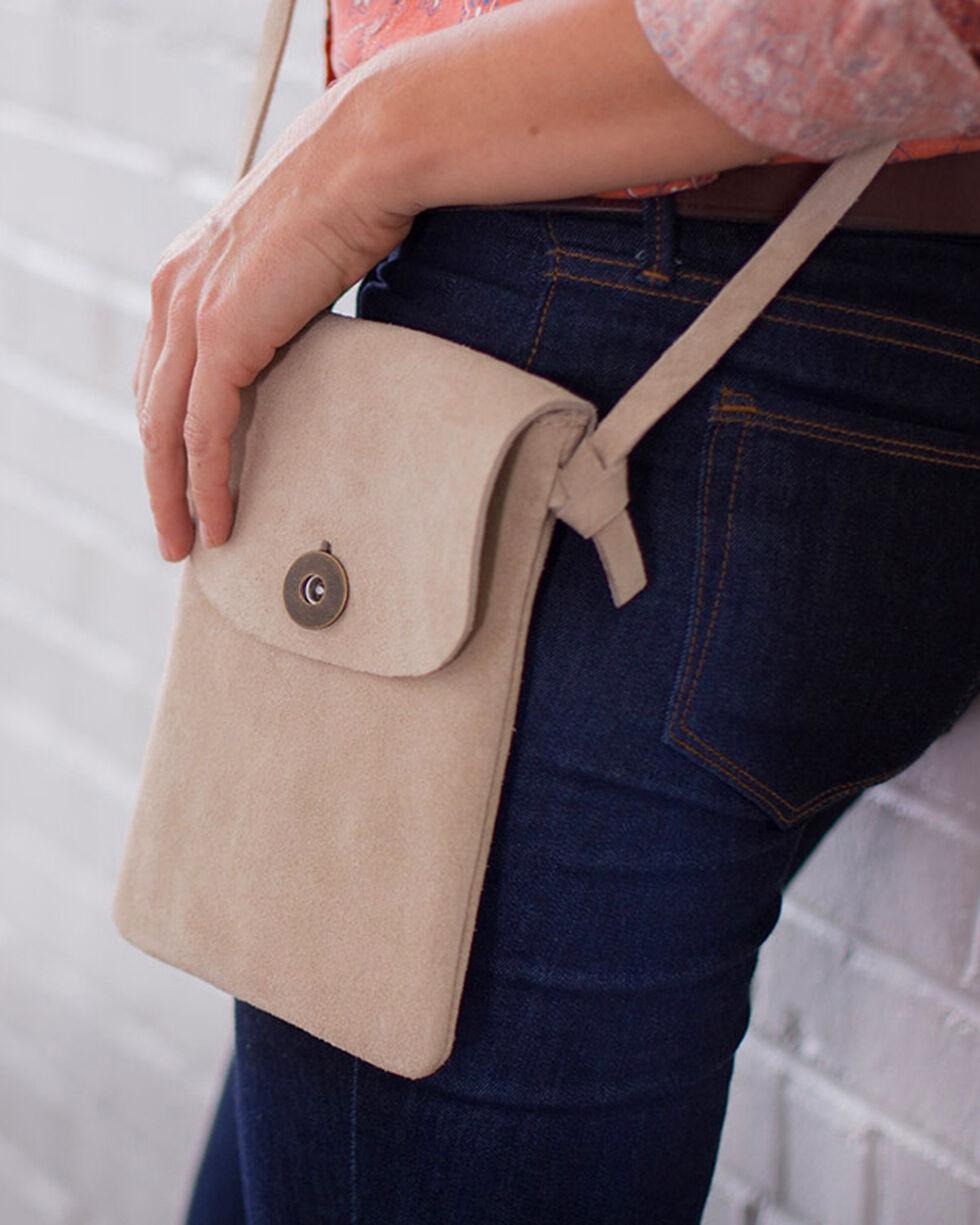 Ryan Michael Women's Opal Cross Body Bag , Cream, hi-res