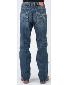 Stetson Men's 1312 Modern Fit Bootcut Jeans, Blue, hi-res
