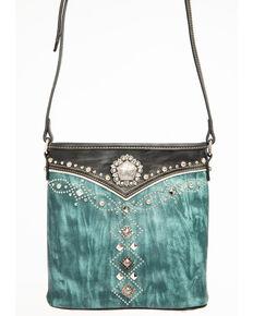 dcccb44d14df Shyanne Women s Distressed Antique Silver Concho Messenger Bag