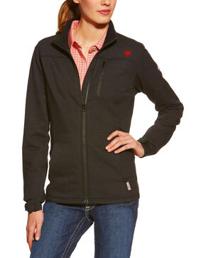 Ariat Women's FR Polartec Powerstretch Jacket, Black, hi-res