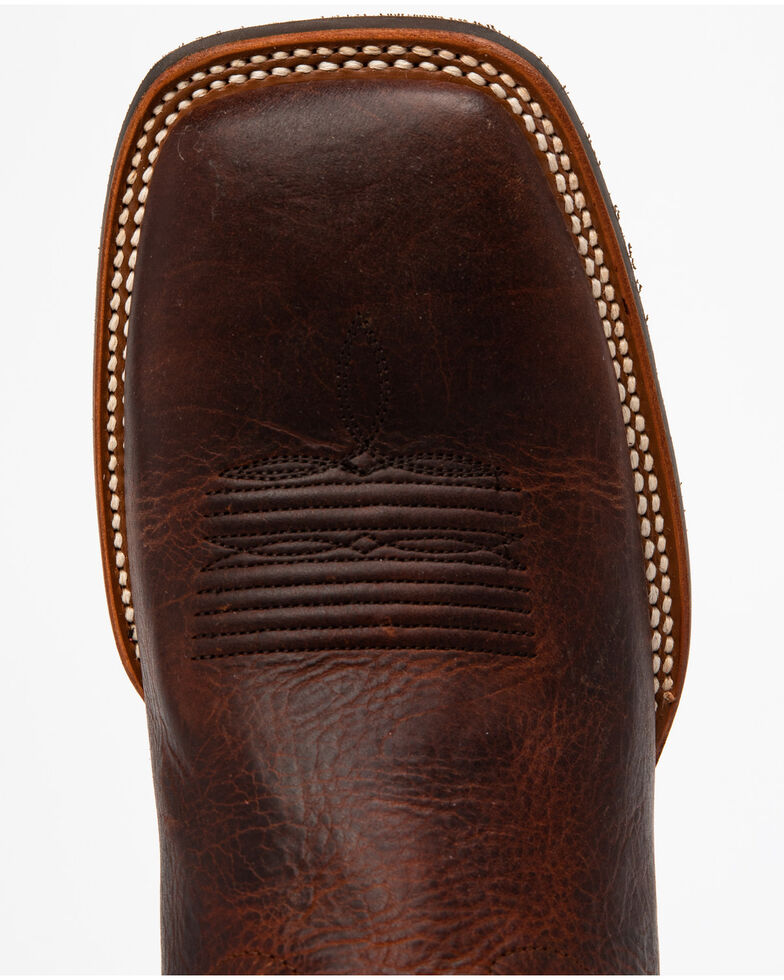 Cody James Men's Barley Western Boots - Square Toe, Brown, hi-res