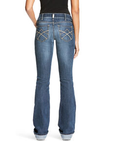 Ariat Women's R.E.A.L. Tulip Gemstone Bootcut Jeans - Plus, Indigo, hi-res