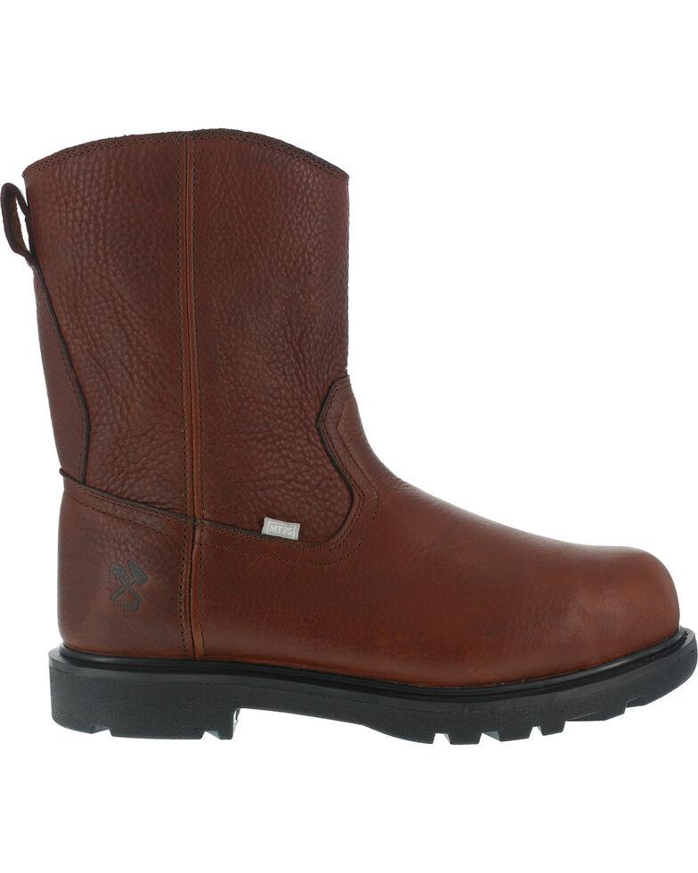 Iron Age Men S Hauler Wellington Side Zipper Work Boots