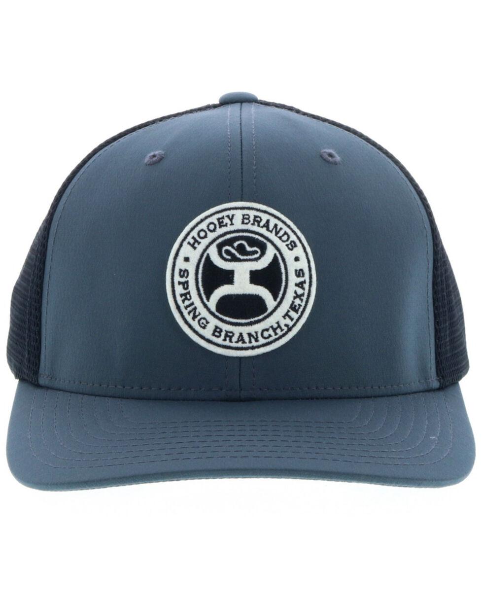 HOOey Men's Grey Guadalupe Trucker Cap , Grey, hi-res
