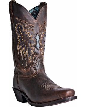Laredo Women's Cora Western Boots, Burgundy, hi-res