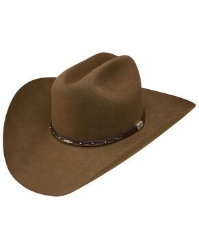 George Strait by Resistol Men's Santa Clara 6x Felt Cowboy Hat, Bark, hi-res