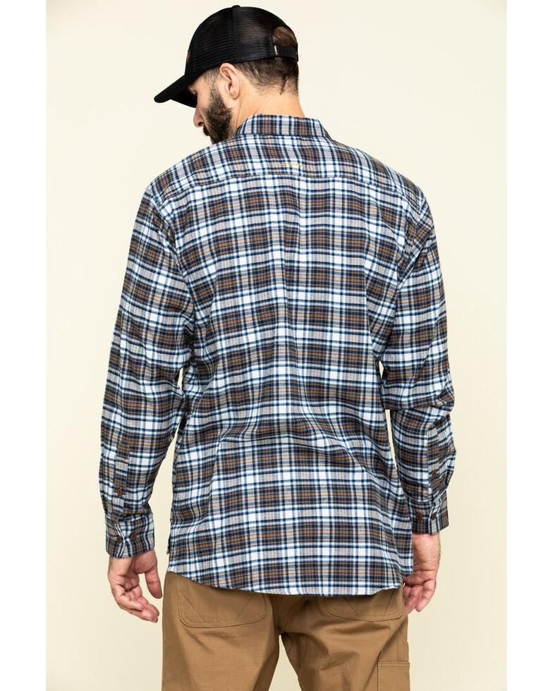 Ariat Men's Wildcat Rebar Flannel Durastretch Long Sleeve Work Shirt , Multi, hi-res