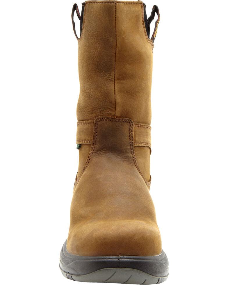 Georgia Men's FLXPoint Composition Toe Work Boots, Brown, hi-res