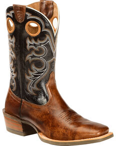 Ariat Men's Crossfire Western Boots, Buckskin, hi-res