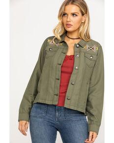Ariat Women's Lulu Jacket, Olive, hi-res