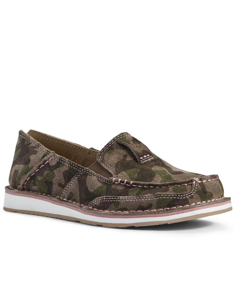 Ariat Women's Camo Cruiser Shoes - Moc Toe, , hi-res