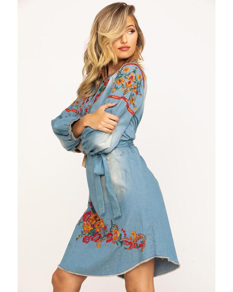 Tasha Polizzi Women's Anika Dress, Blue, hi-res