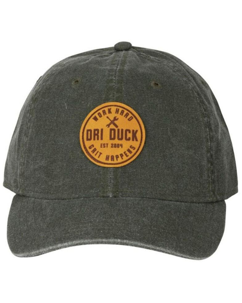 Dri-Duck Men's Oilve Gritt Happens Circle Patch Outland Cap , Olive, hi-res
