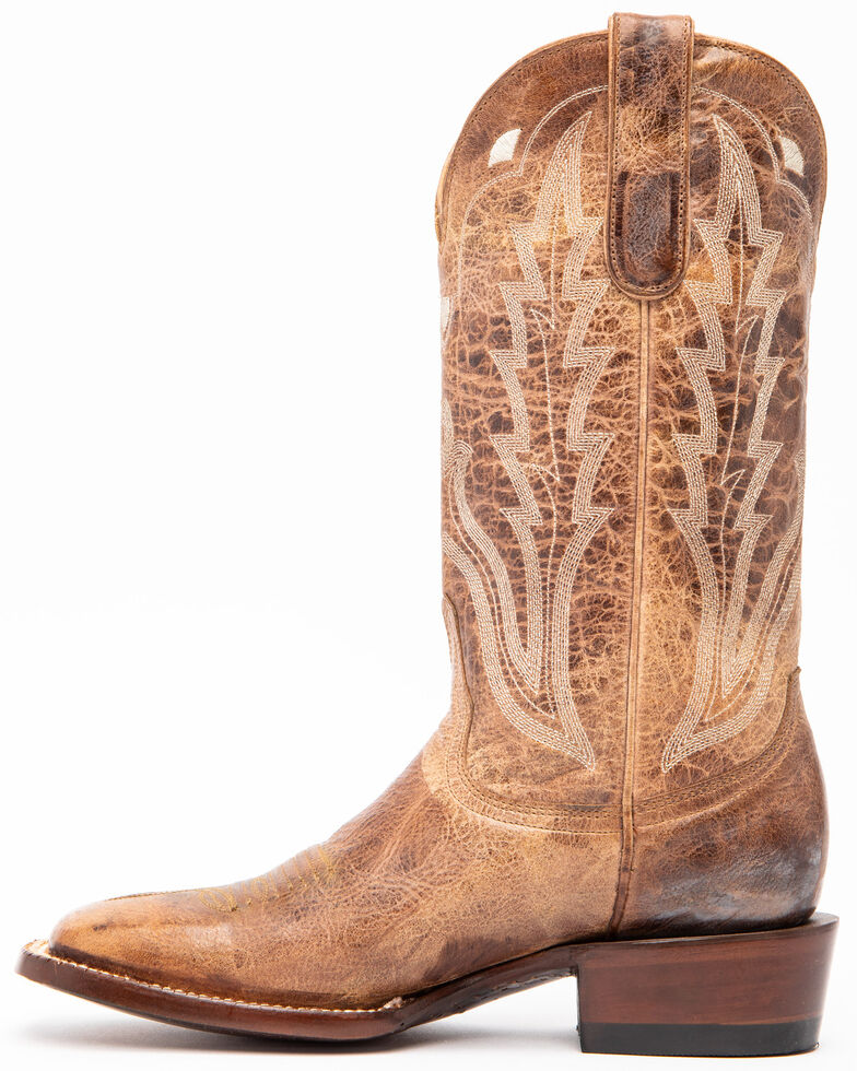 Idyllwind Women's Outlaw Western Performance Boots - Square Toe, Taupe, hi-res
