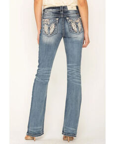 Miss Me Women's Chloe Boot Cut Jeans, Blue, hi-res