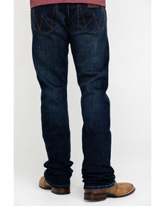 Wrangler Retro Men's Lockhart Premium Stretch Slim Bootcut Jeans , Indigo, hi-res