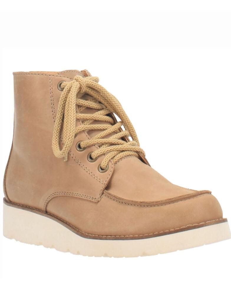 Dingo Women's Rosie Casual Shoes - Moc Toe, Natural, hi-res