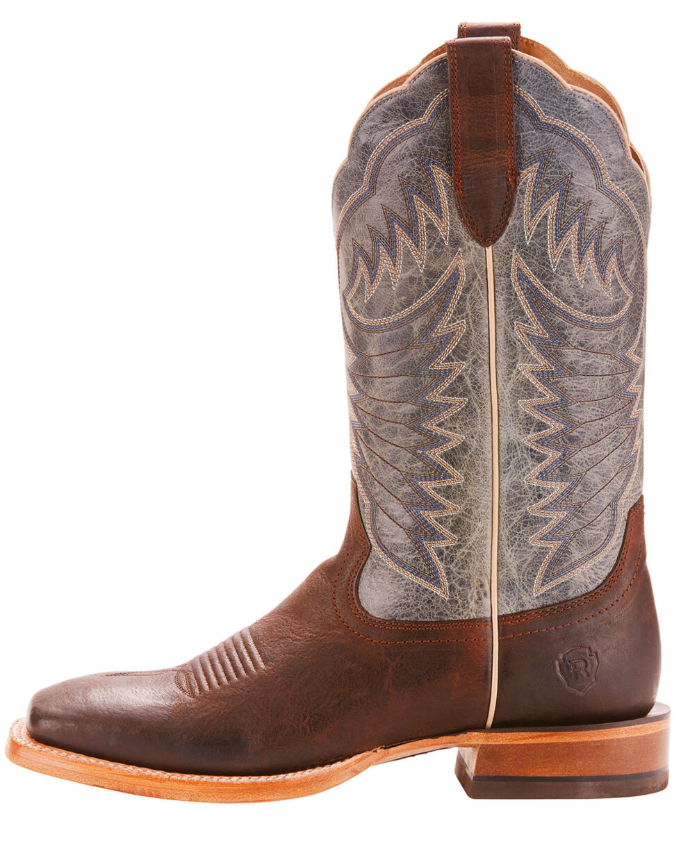Ariat Men's Brown Relentless Record Breaker Boots - Square Toe , Brown, hi-res