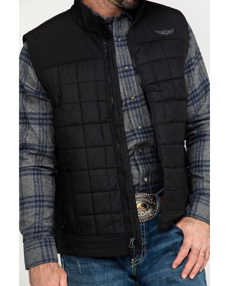 Ariat Men's Black Persistence Insulated Vest , Black, hi-res