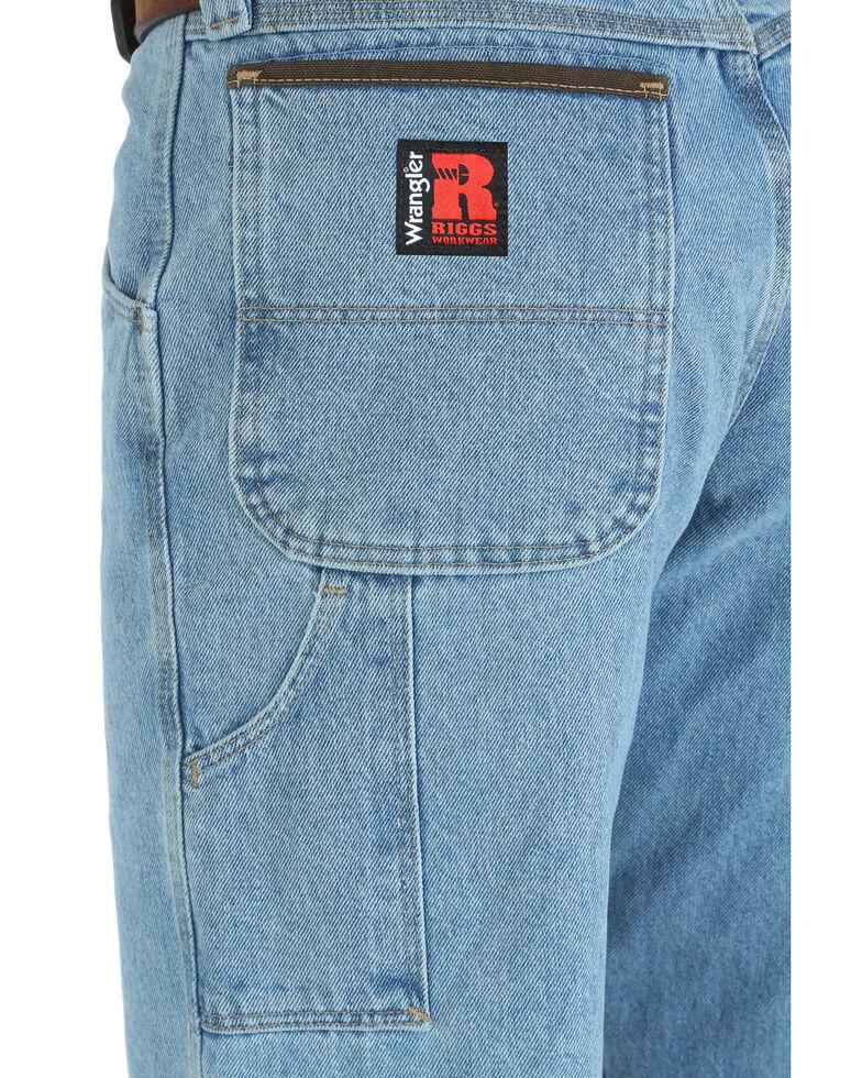 Wrangler Men's Riggs Workwear Relaxed Carpenter Jeans - Big , Indigo, hi-res
