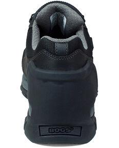Bogs Men's Foundation Black Waterproof Work Boots - Composite Toe, Black, hi-res