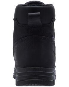 Wolverine Men's Chainhand Waterproof Work Boots - Steel Toe, Black, hi-res